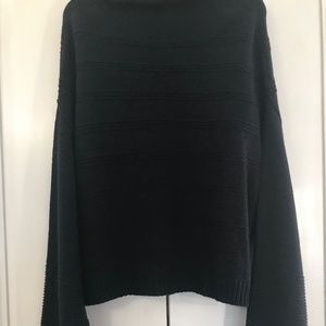 Jessica Simpson black sweater with bell sleeves